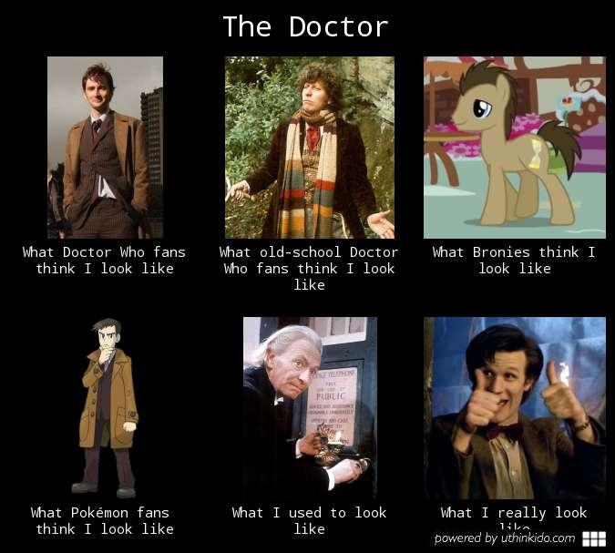 Doctor Who - What The Doctor Looks Like