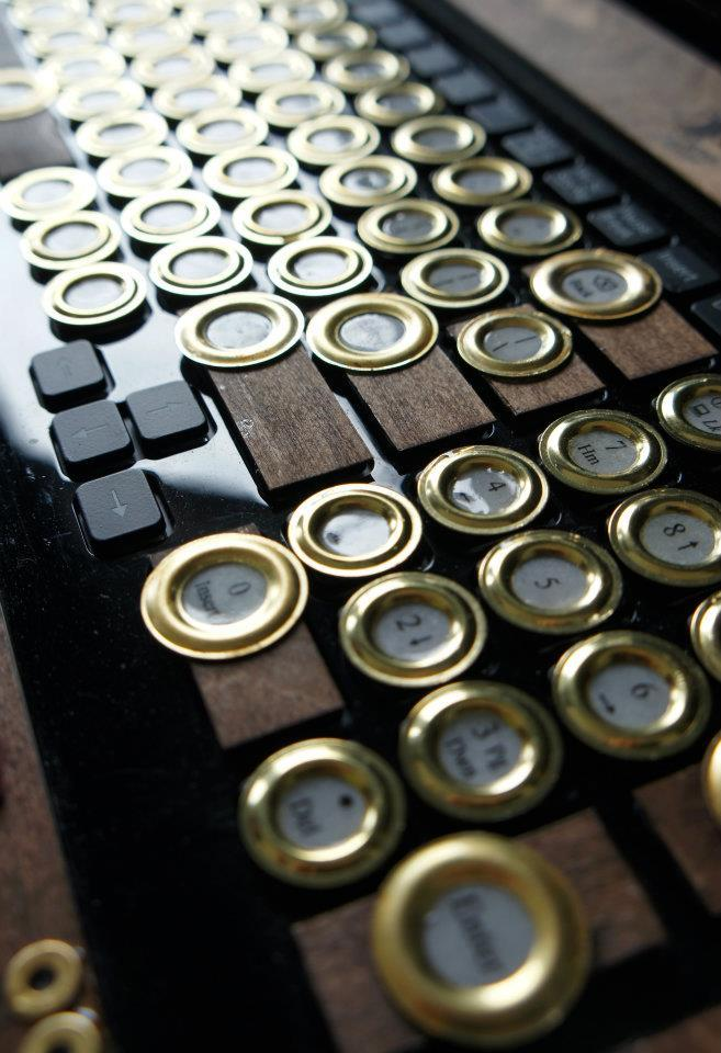 SONY VAIO Steampunk Keyboard