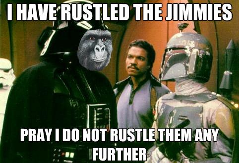 Lando is Upset.