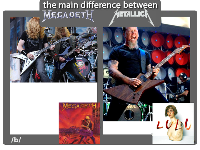 The Main Difference between Megadeth and Metallica