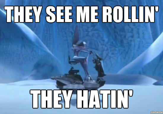 Starscream's Rollin