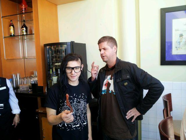Skrillex and SomethingAwful