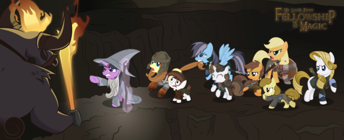 LOTR Pony [by deviantART]