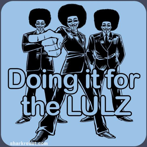 Doing it for the LULZ - Snafu Comics