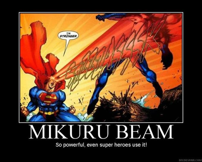 Mikuru Beam - Superman