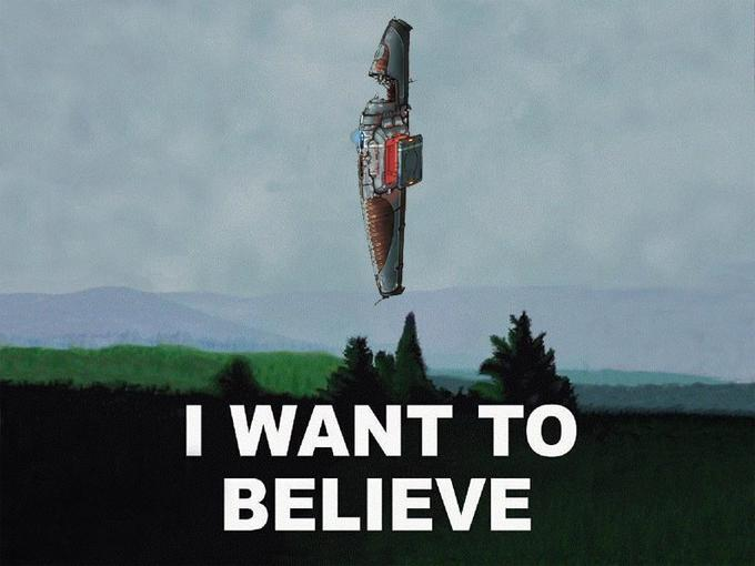 I Want To Believe - Homeworld