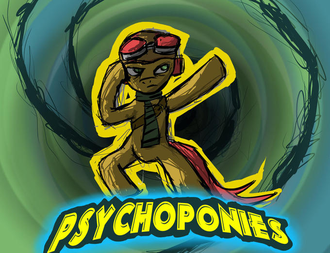Psychonauts cover ponified