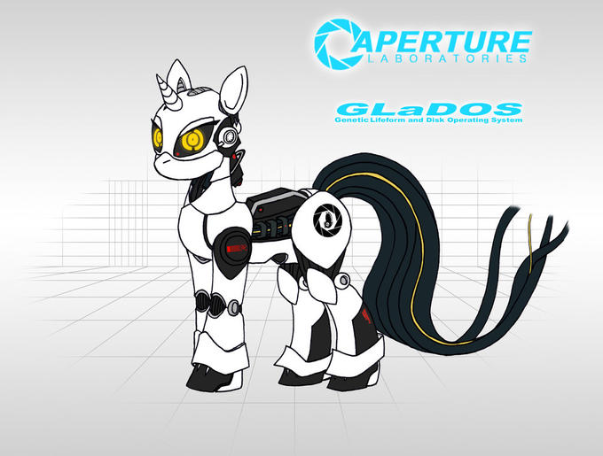 GLaDOS ponified