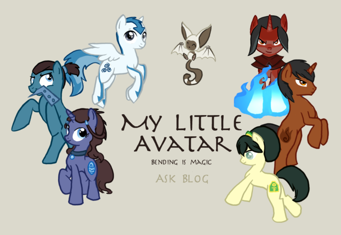 Avatar: The Last Airbender characters ponified