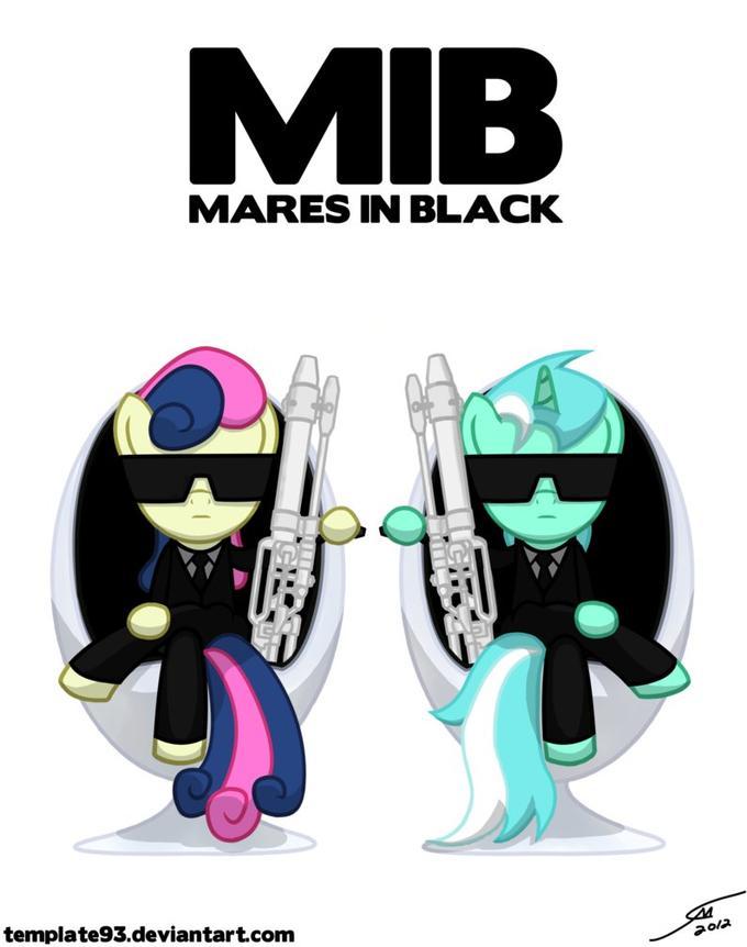 Mares In Black