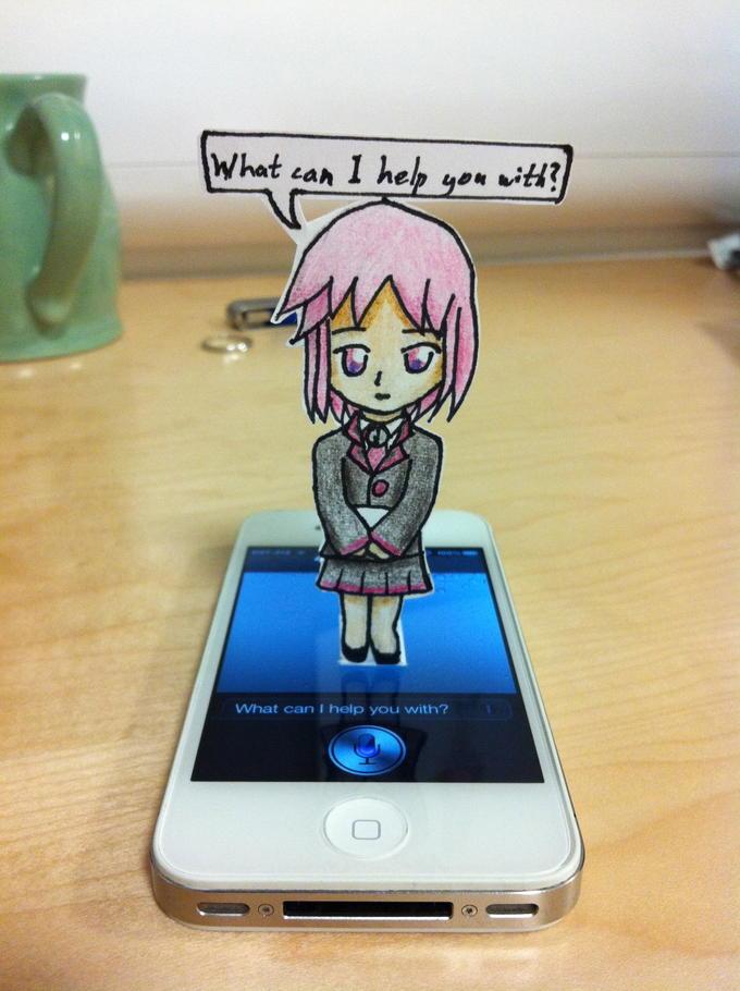 Siri (US) Paper Child
