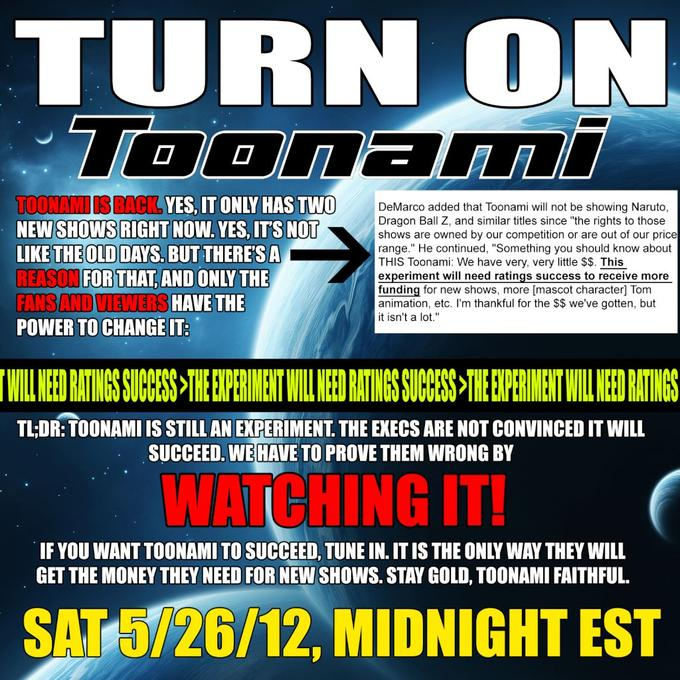 Why you should watch Toonami this saturday!