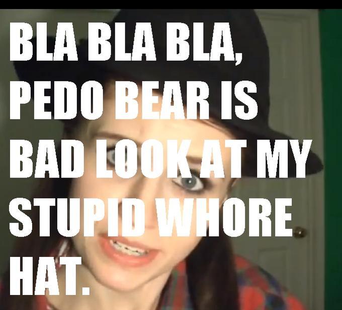 MeganLeeHeart Hates Pedobear