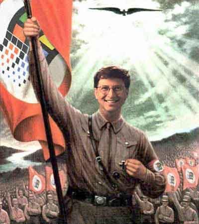 Bill Gates Hitler