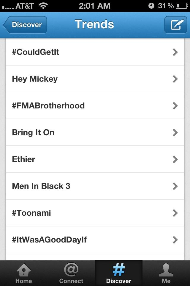 Toonami trending