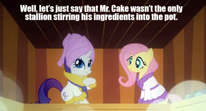 Ponies get catty-the Cakes