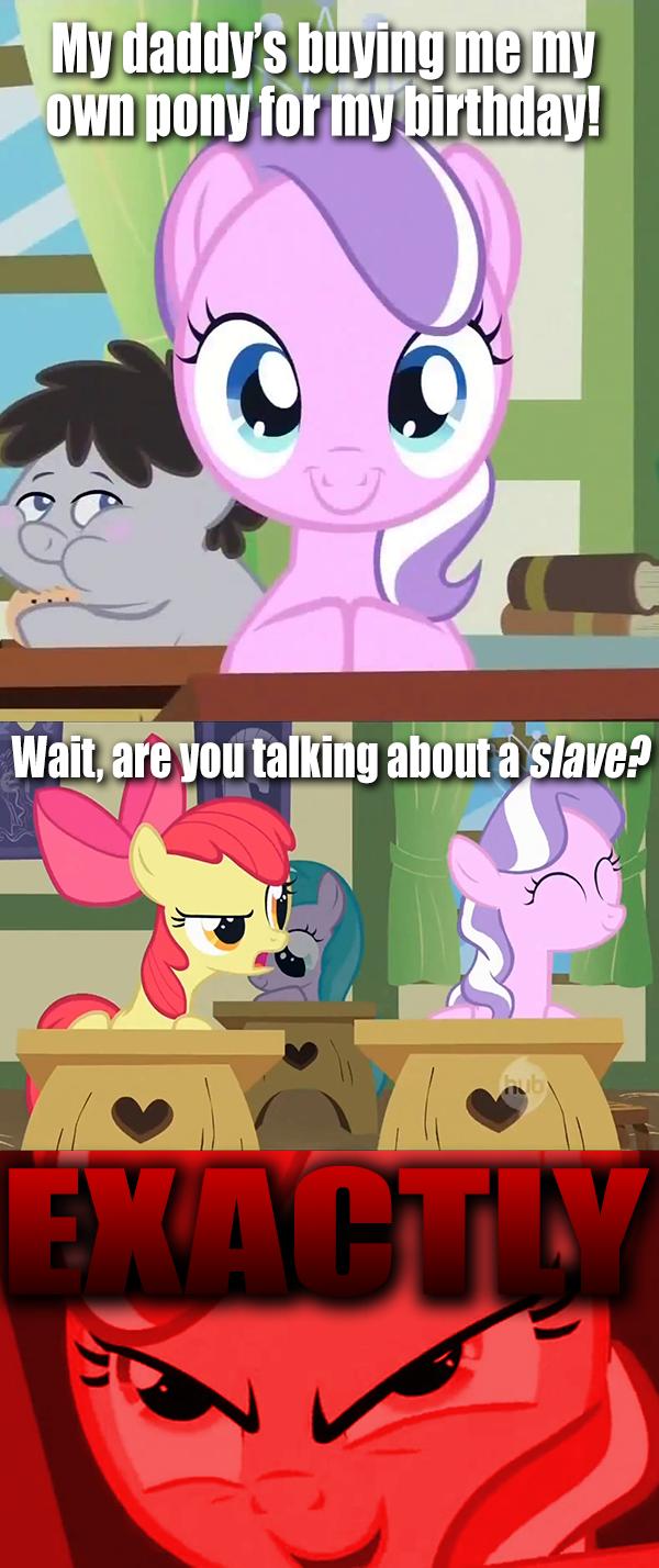 """My"" Little Pony... literally"