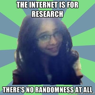The Internet is for Research...