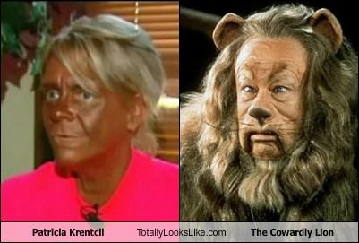Patricia Krentcil Totally Looks Like The Cowardly Lion