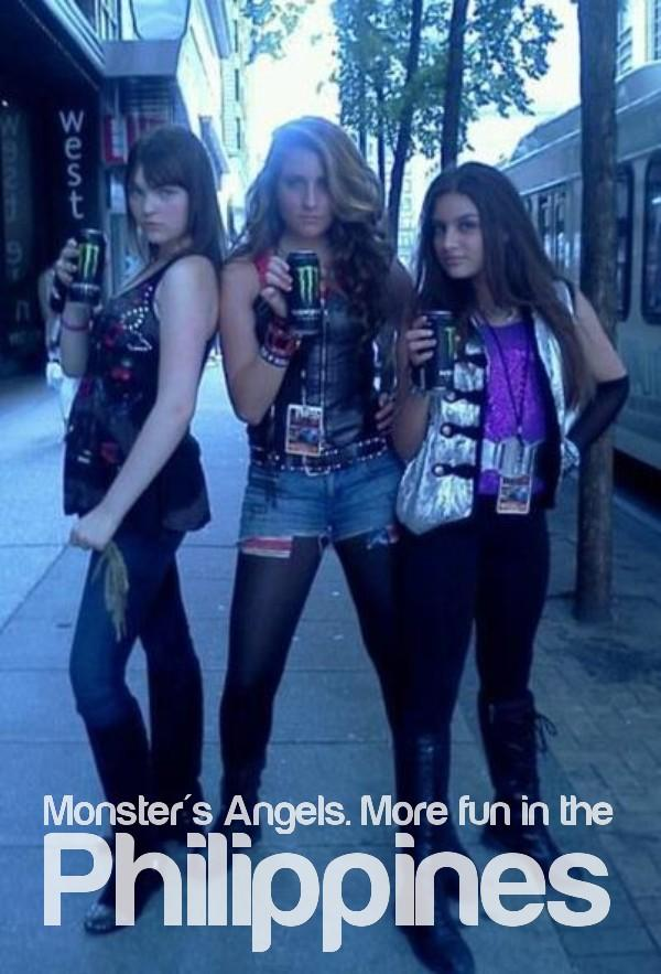 Monster's Angels. More Fun In the Philippines