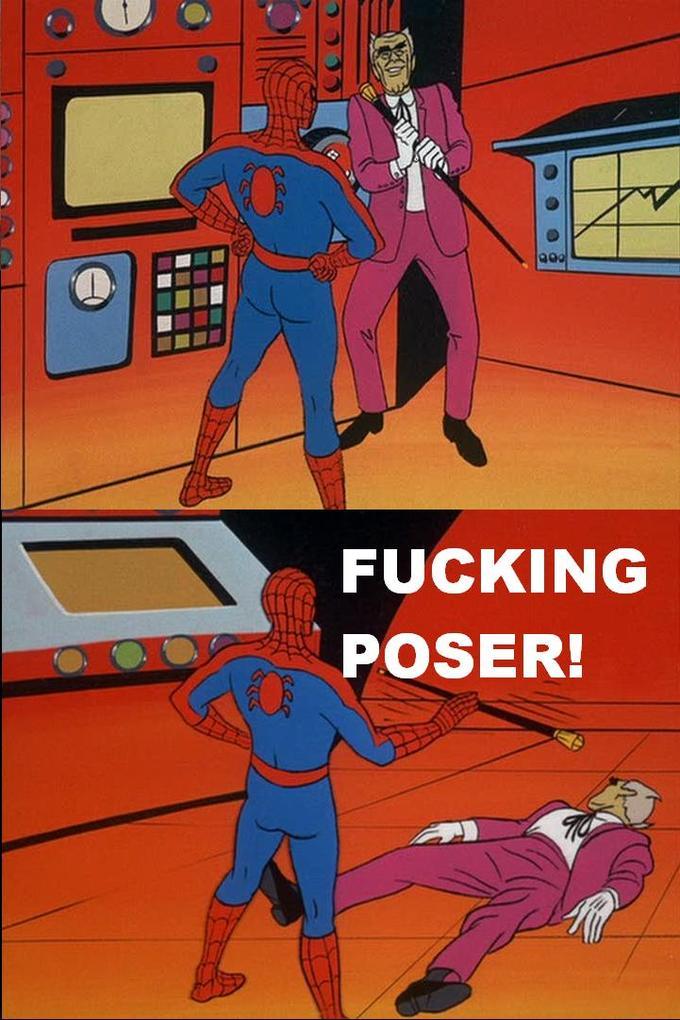 spidey poser
