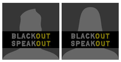 Speak Out Black Out