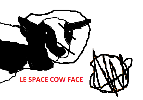 LE SPACE COW FACE