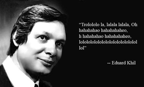 Rest in Peace Eduard Khil