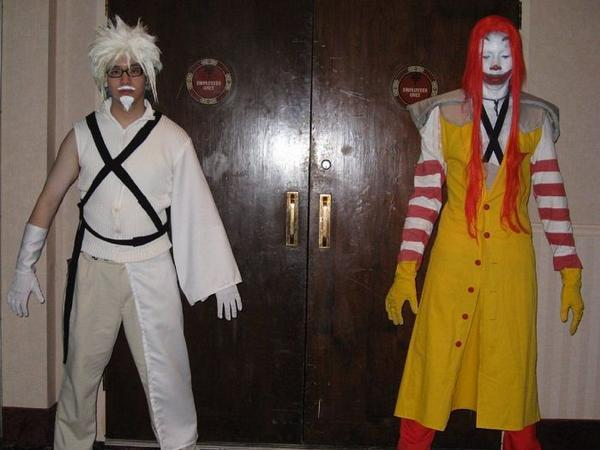 Colonel Sanders & Ronald McDonald & Final Fantasy VII