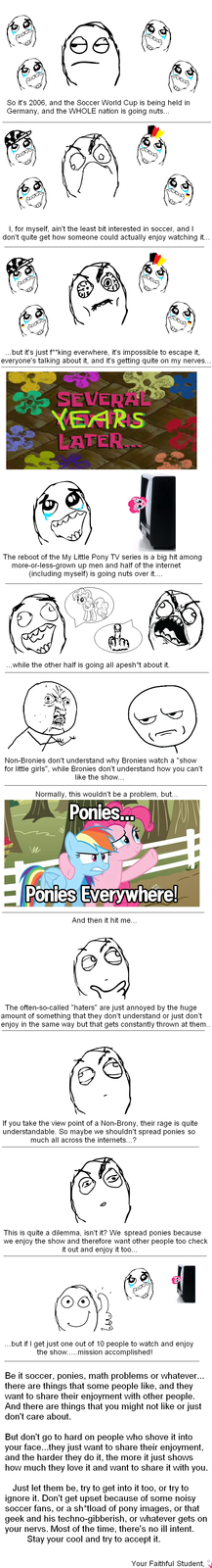 "The Big ""Ponies Everywhere"" Dilemma..."