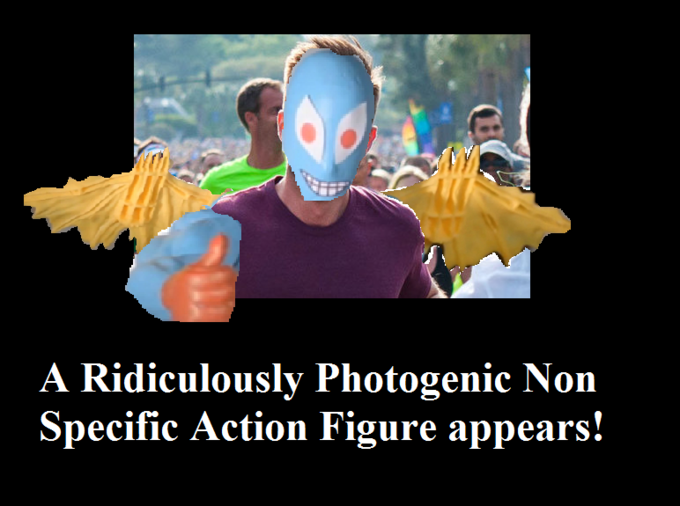 Ridiculously Photogenic Non Specific Action Figure
