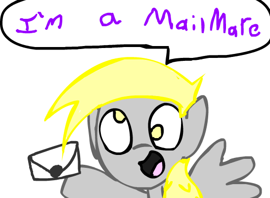 Dr. Muffin is a MailMare :D