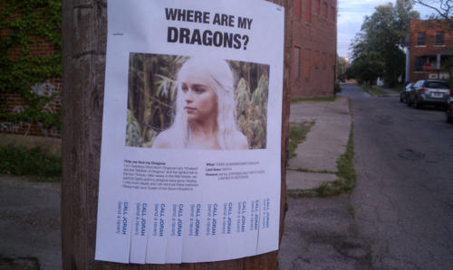 Where Are My Dragons