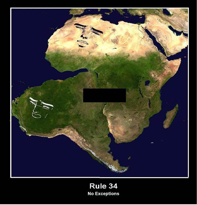 Africa x South America