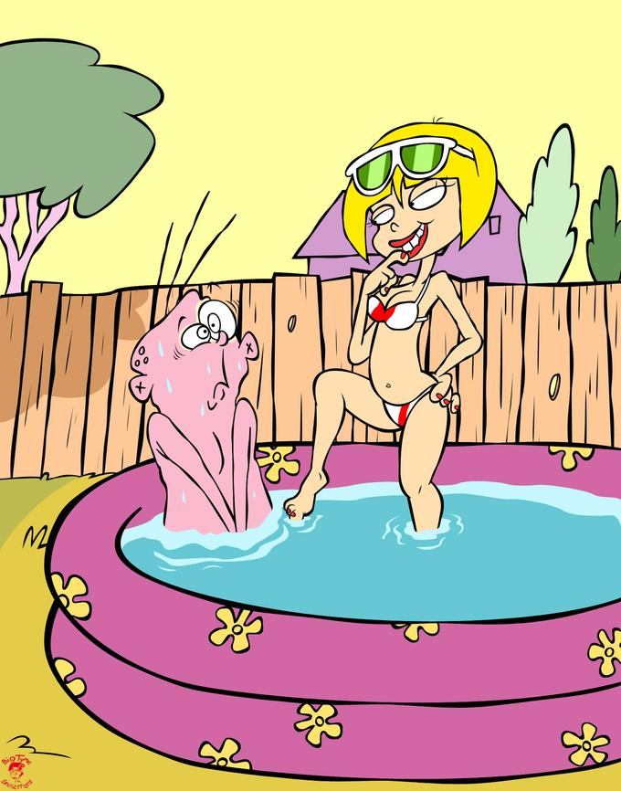 Eddy's Pool-Side Predicament