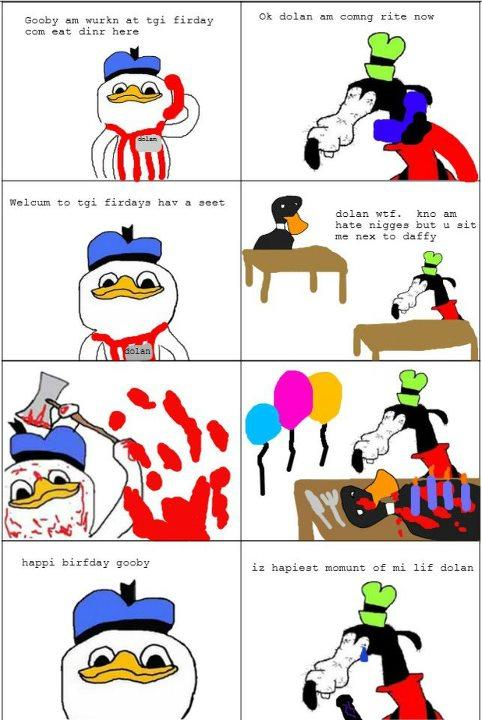 Gooby And Dolan Costumes gooby am wurkn ...