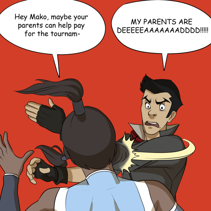 Mako's Parents are Dead