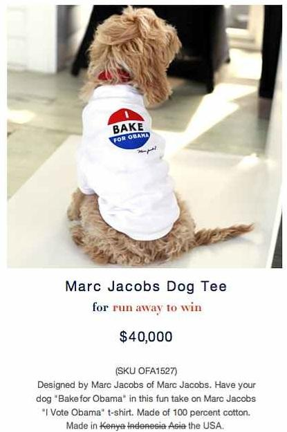 I Bake For Obama Doggy Shirt