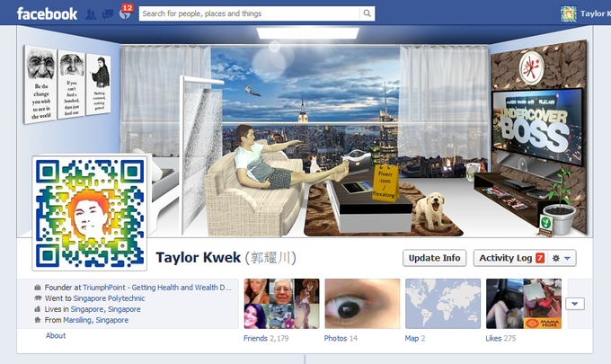 creative facebook timeline cover profile personal business design