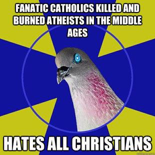 Anti-Religion Pigeon