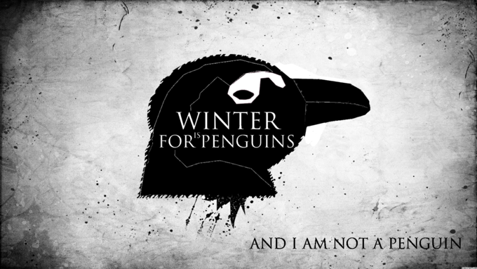 Winter is for penguins