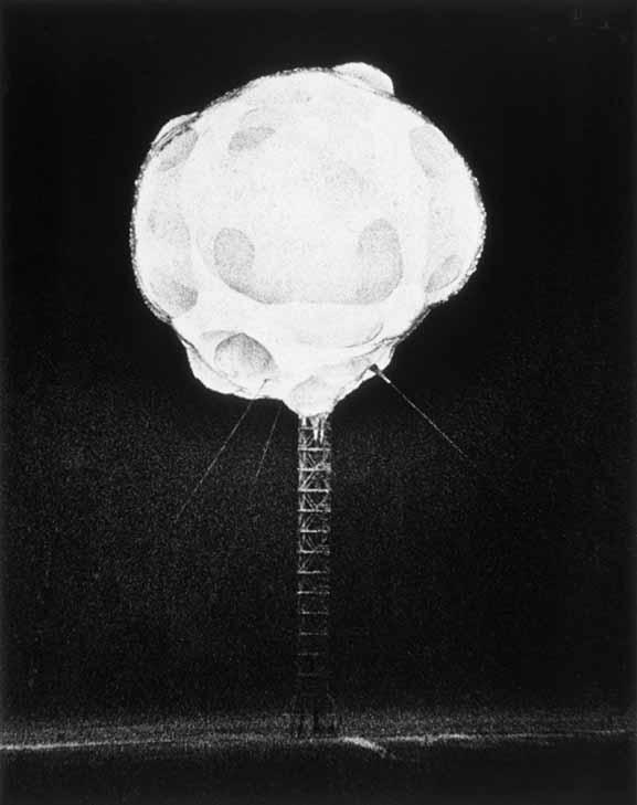 Harold Edgerton, _Atomic Bomb Explosion_, circa 1952