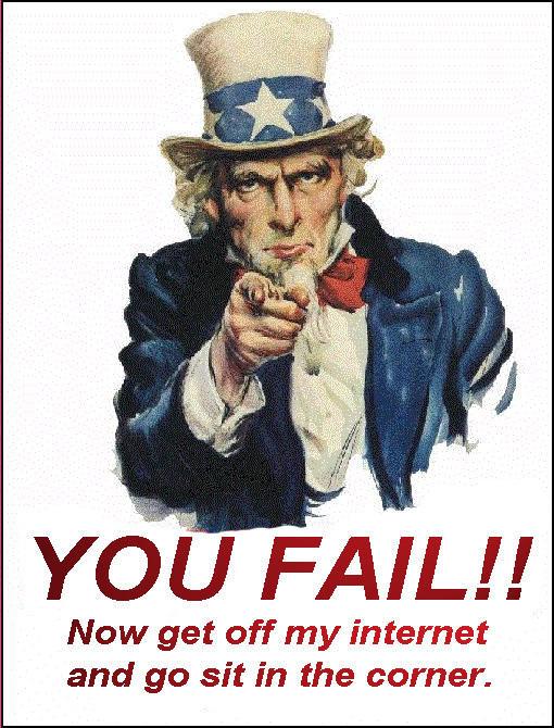 I Want You - You Fail