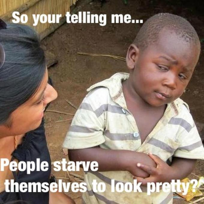 skeptical 3rd world kid on anorexia