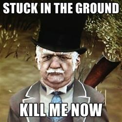 Stuck In The Ground