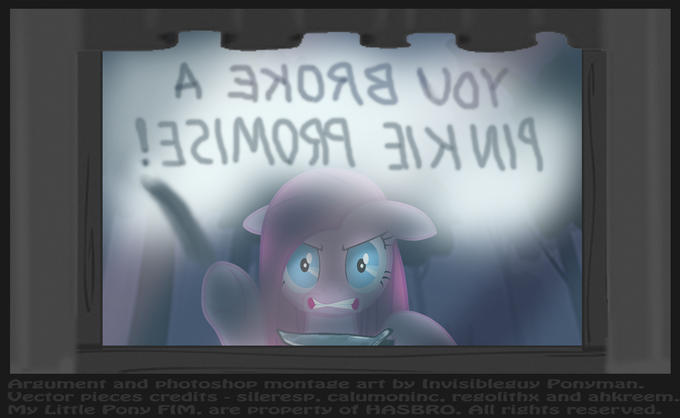 YOU BROKE A PINKAMENA PROMISE!!!