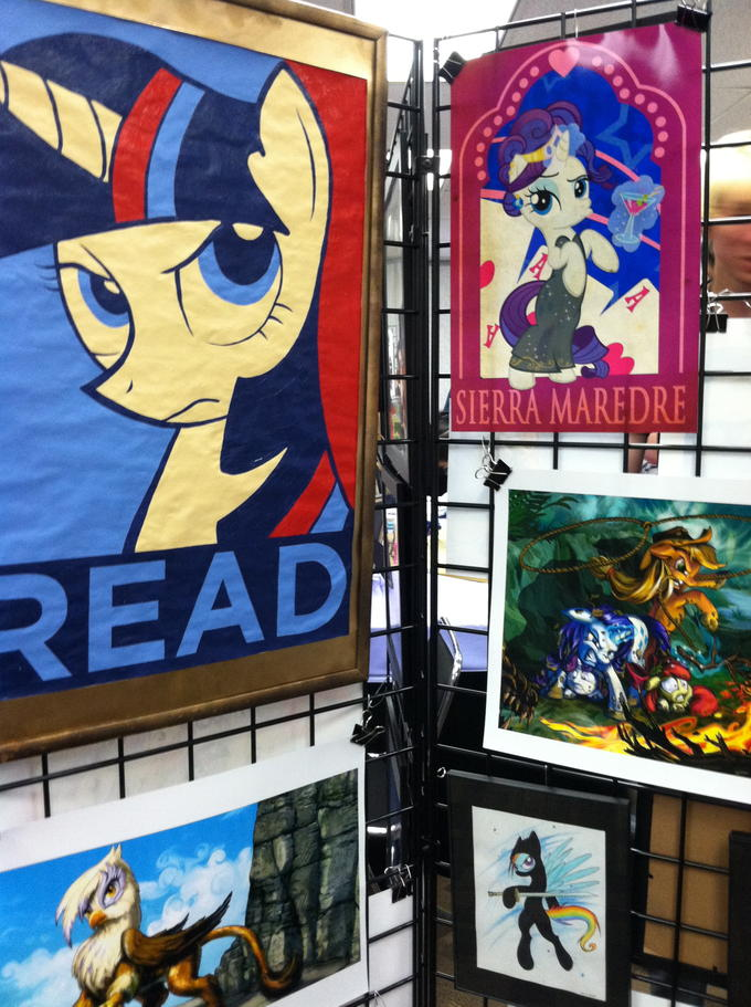 Art in the Traveling Pony Museum