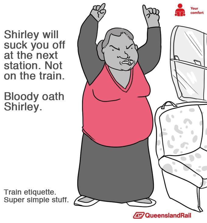Queensland Rail - Shirley