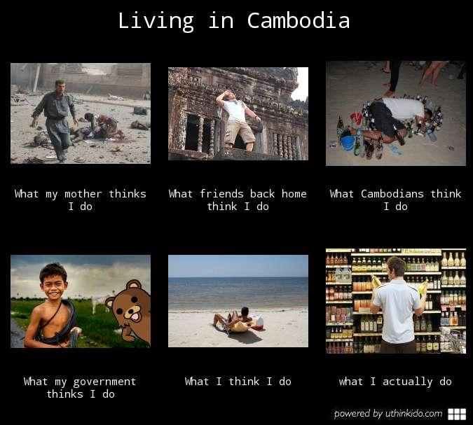 Living as an expat in Cambodia
