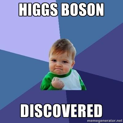 Success Kid Higgs-boson